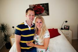 David & Lena hoppas på sitt livs affär